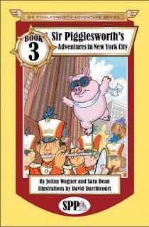 joann wagner, sir pigglesworth, piglet children's book, nyc children's book