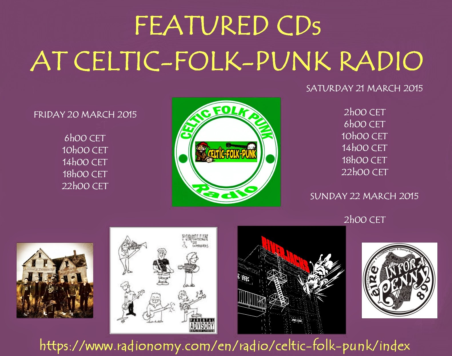 FEATURED ALBUMS AT CELTIC-FOLK-PUNK RADIO (20-21 MARCH ...