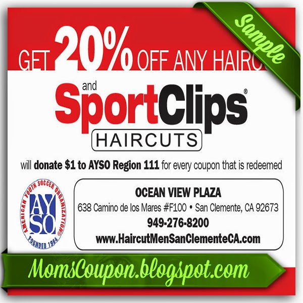 Printable haircut coupons