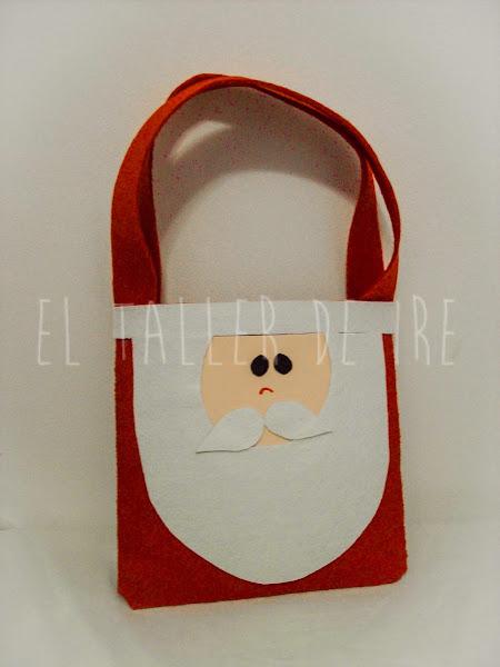 DIY: Bolsas de fieltro para Navidad