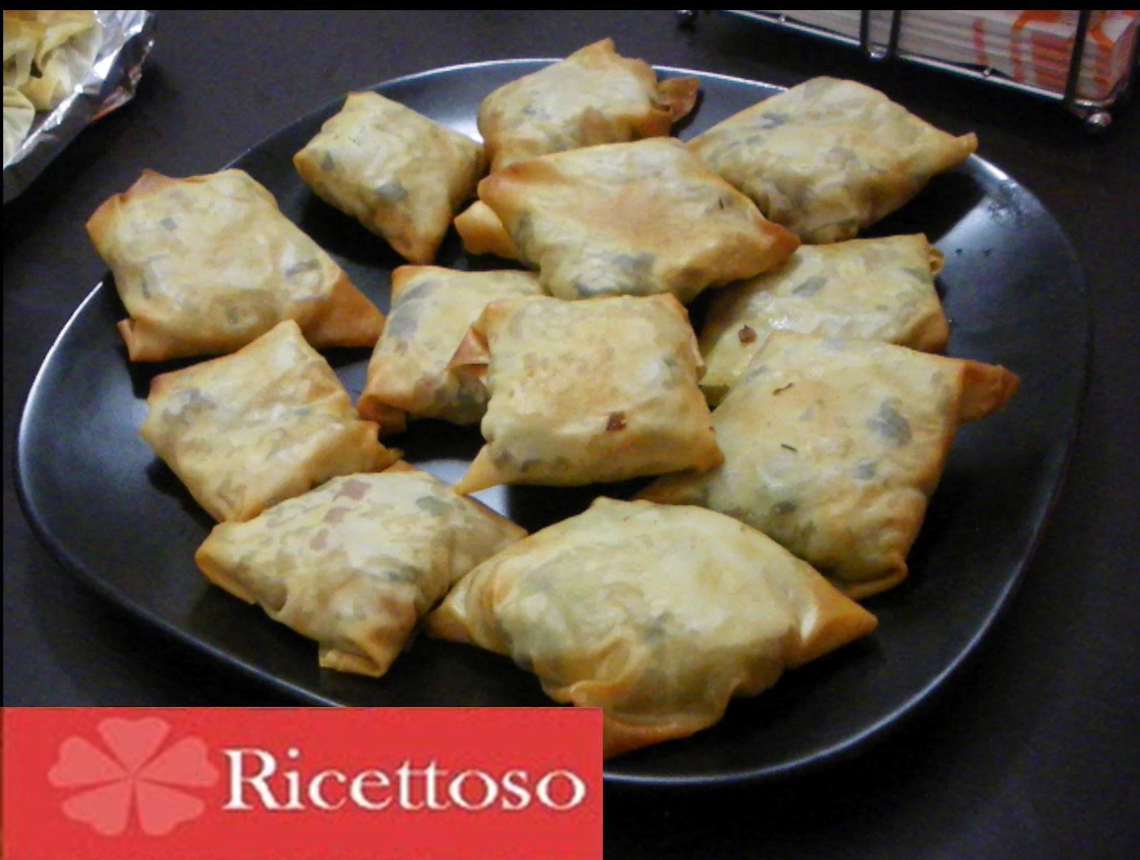 Ricettoso non solo ricette fagottini di pasta fillo for Ricette con verdure