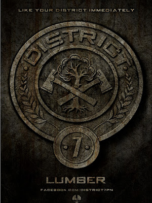 The Hunger Games District 7 Lumber Poster