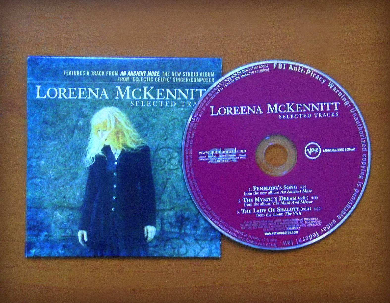 loreena mckennitt collection 2006 selected tracks