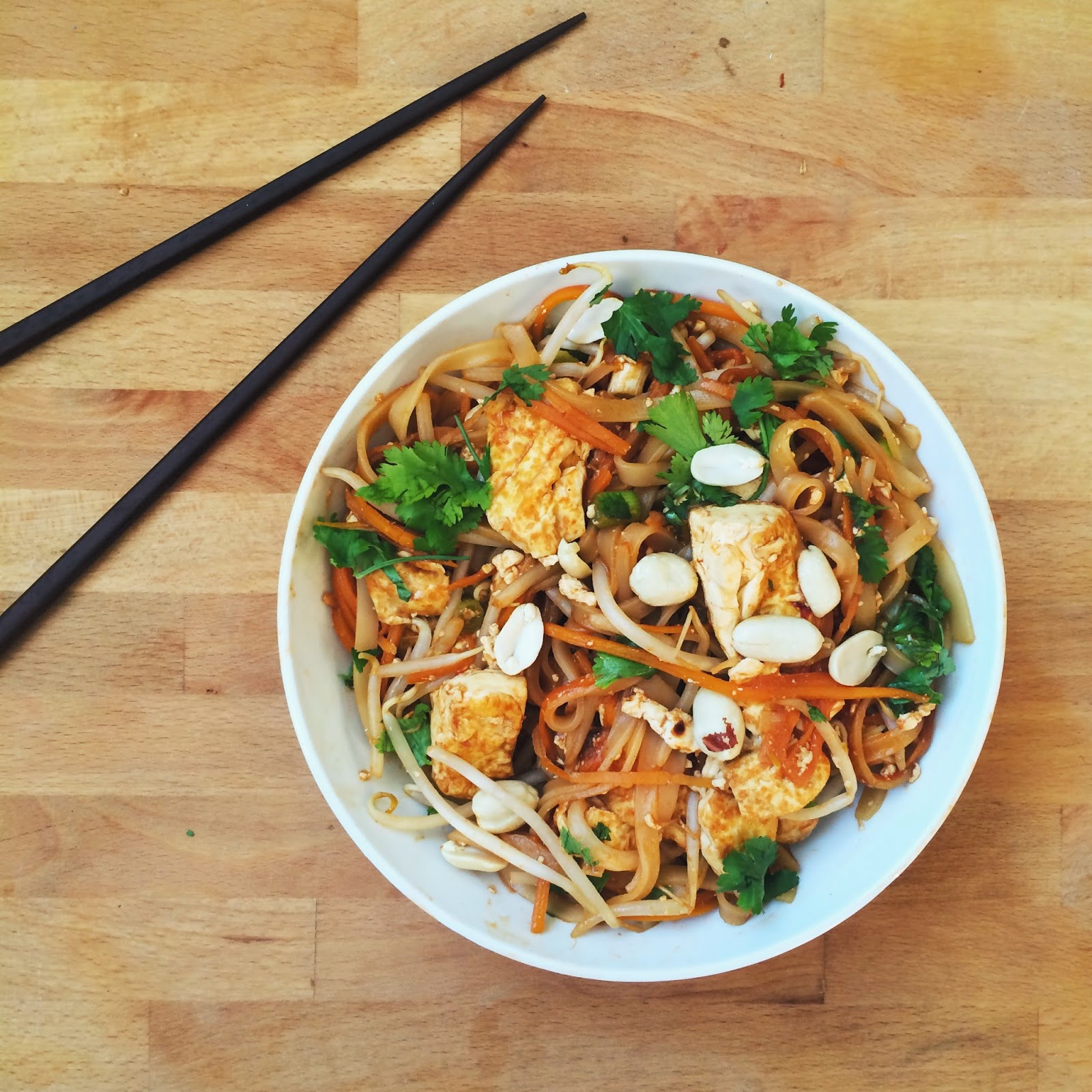 thai recipe thai sweet potato noodles with amazing simple thai tofu ...