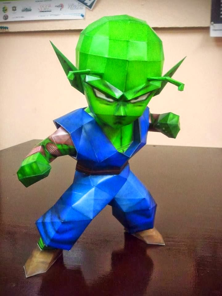 Small Piccolo Papercraft Model