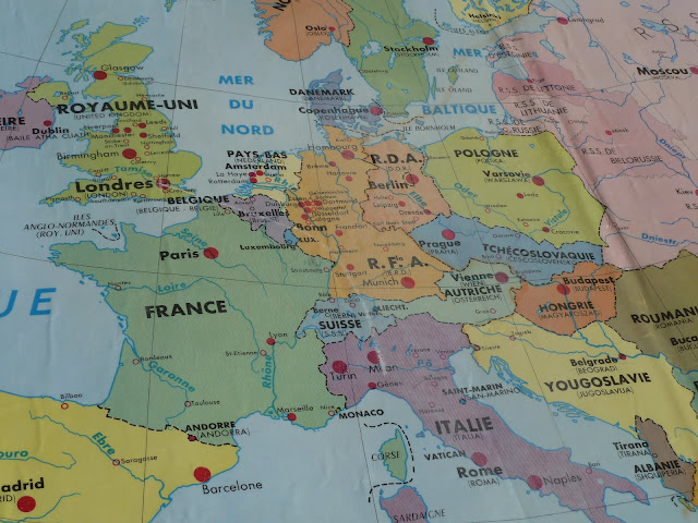 french european international map from school