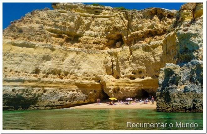 Praias Algarve; Férias Algarve; Grutas Marinhas; Sea Caves; Grotten Fahrt