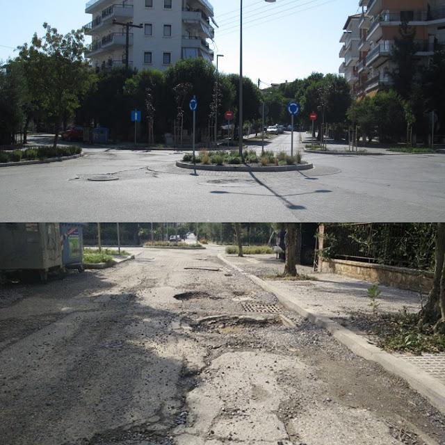 Όλοι οι δρόμοι οδηγούν...στη ρημαγμένη Βενιζέλου
