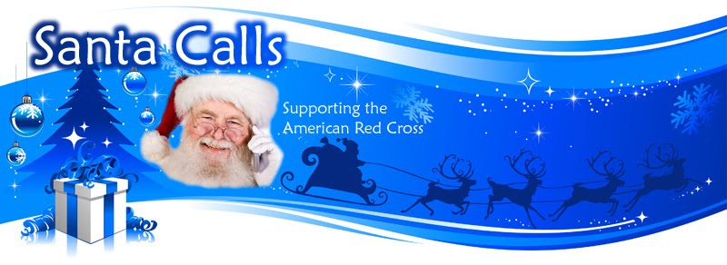 Get a call from Santa, and help the American Red Cross!