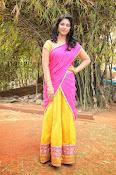 kruthika jayakumar half saree stills-thumbnail-9