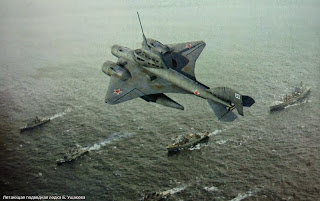 Ιπτάμενο υποβρύχιο, ένα Σοβιετικό project που όμως δεν πραγματοποιήθηκε ποτέ