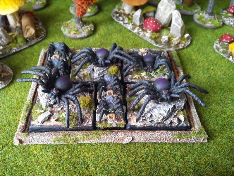 Diario de un Friki: Drows: arañas