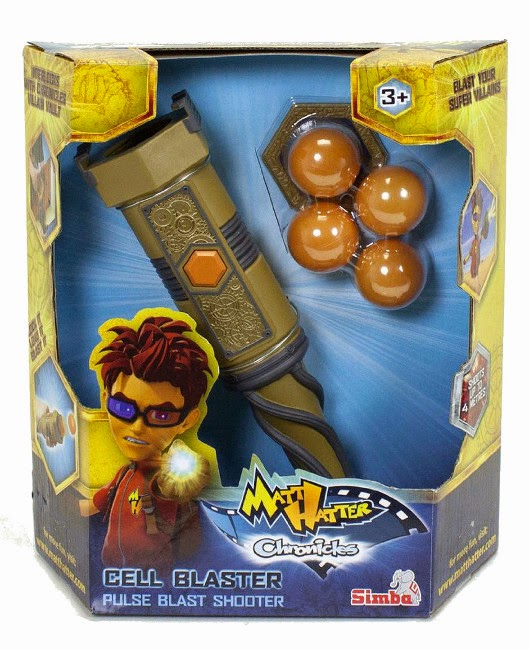 JUGUETES - Matt Hatter Chronicles - Cell Blaster  Producto Oficial Serie Clan | Simba | A partir de 3 años