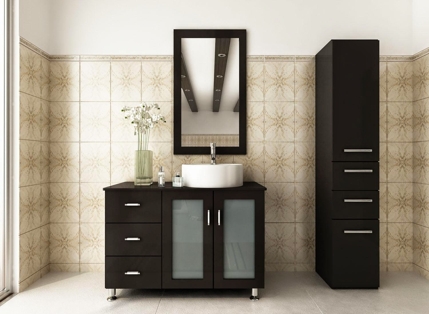 Small bathroom vanity cabinets bathroom vanities costco for Bathroom furniture design ideas