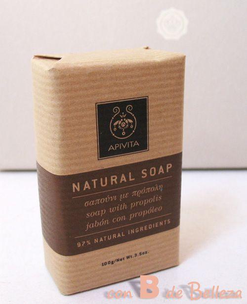 Apivita soap