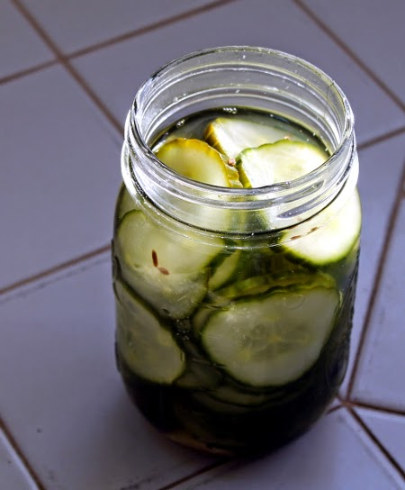 New Year's cucumber pickles