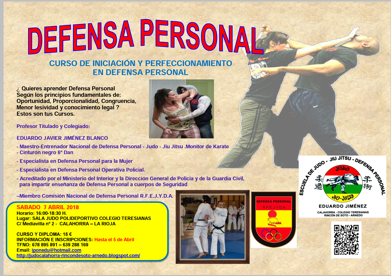 CURSO DEFENSA PERSONAL