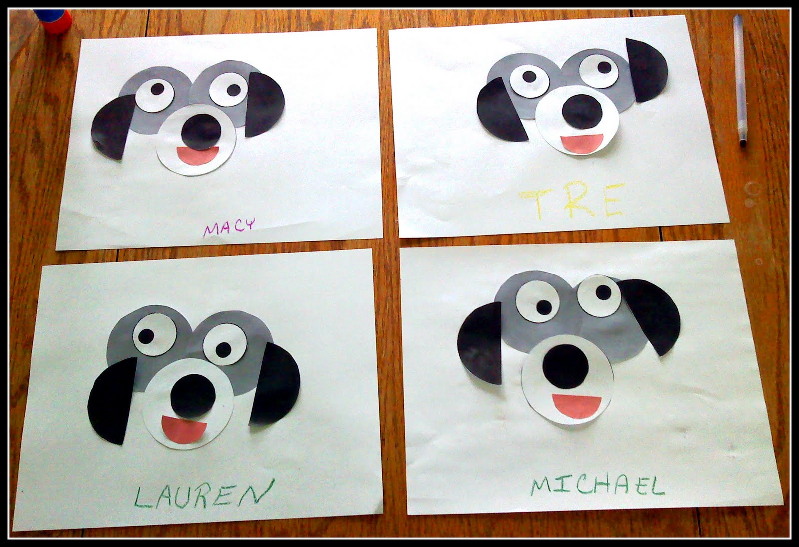 preschool dog activities the walnut acre chronicles circle craft 531