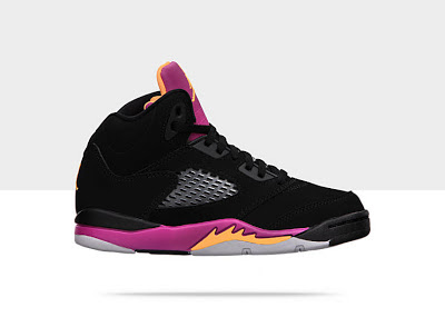 Air Jordan 5 Retro (10.5c-3y) Pre-School Girls' Shoe 440893-067