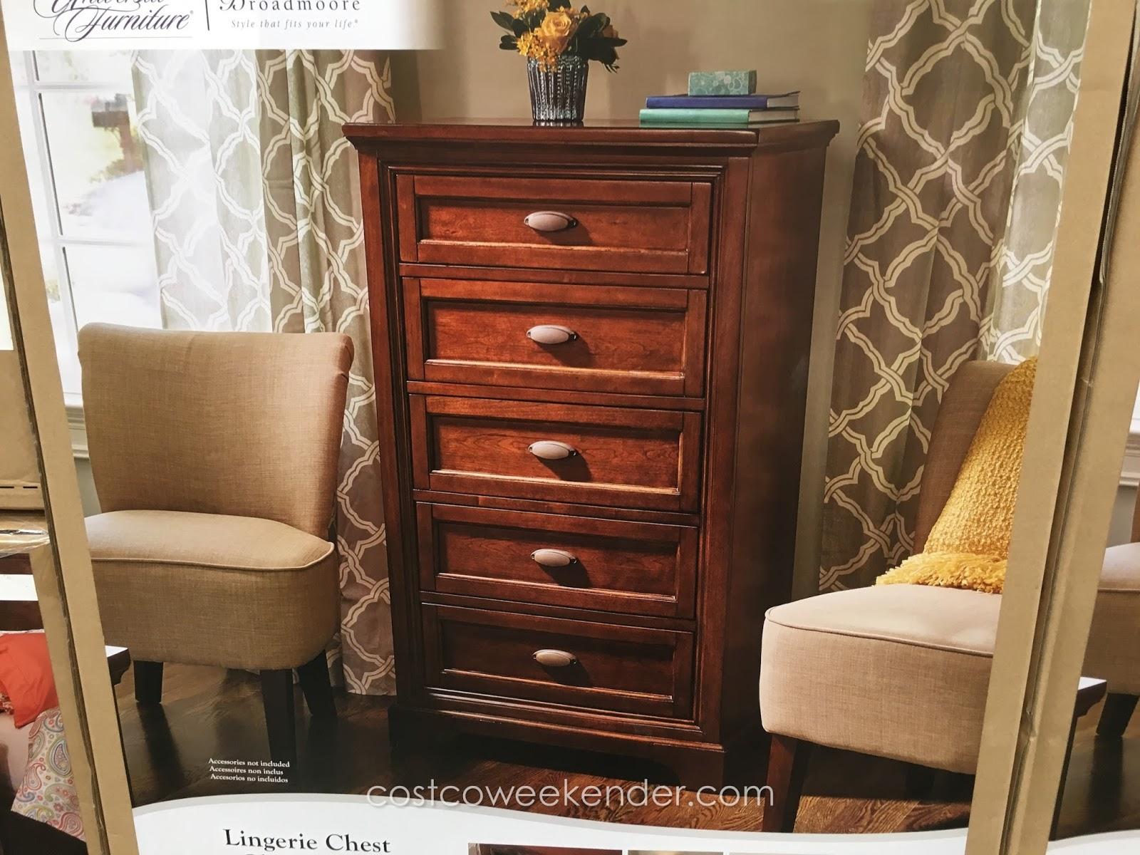 Universal Furniture Broadmoore Lingerie Chest Costco Weekender