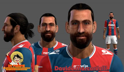 Davide Moscardelli Face by Fampei