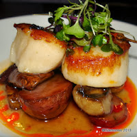 Chef Gina Rodriguez Signature Scallop at Serrano in Philadelphia PA