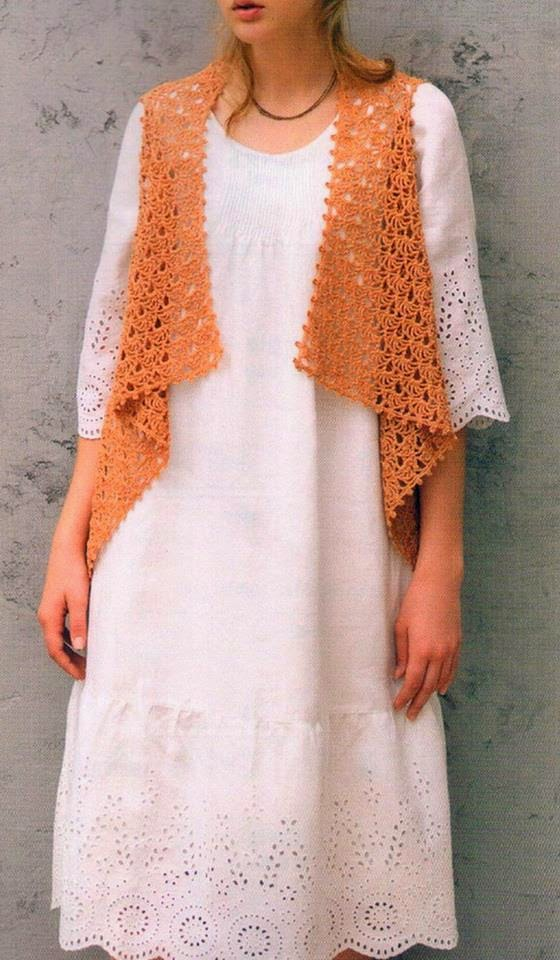 Crochet Patterns For Women s Cardigans : Stylish Easy Crochet: Crochet Cardigan