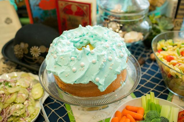 Sea Sponge Cake