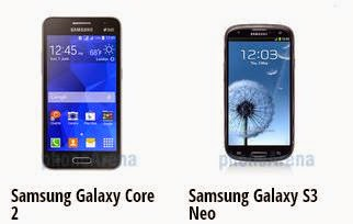 Harga Samsung Galaxy Core 2 atau Samsung Galaxy S3 Neo