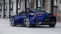 Lexus LF-LC Blue backside