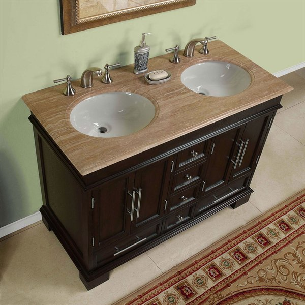 Double sink vanity woodworking plans
