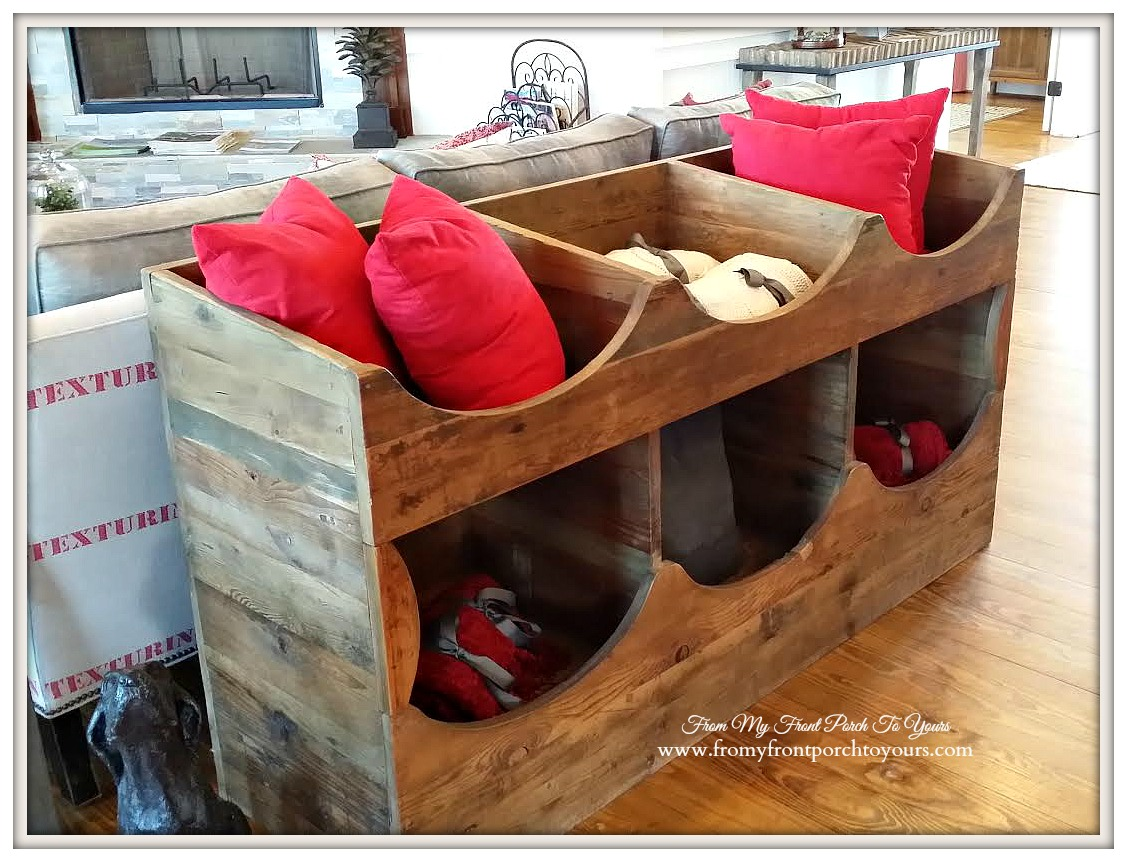 Rustic Storage Bin-Texas Farmhouse-RoundTop Texas-Trendmaker Homes-From My Front Porch To Yours