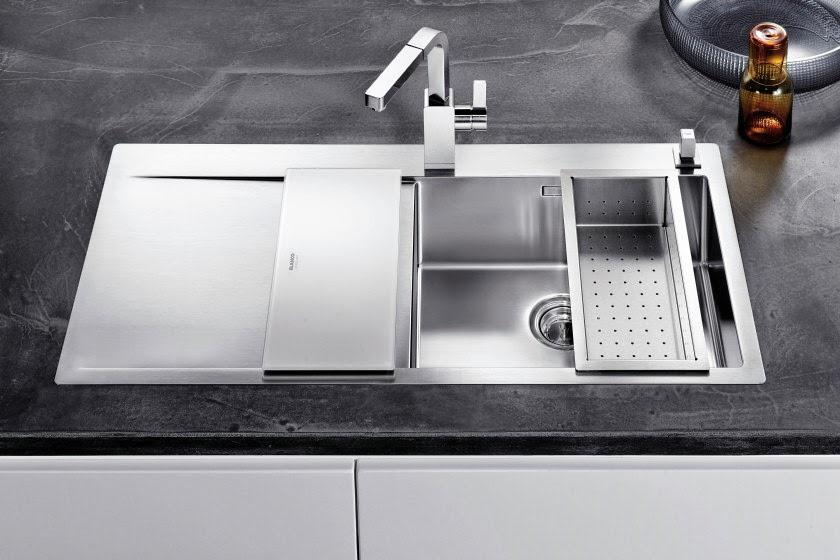 Fregaderos con accesorios cada vez m s funcionales - Escurridor para fregadero ...