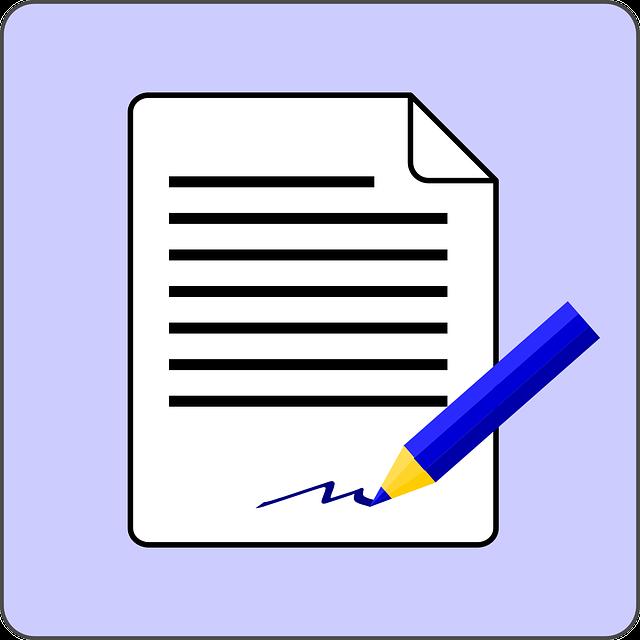 semnatura in blogger post