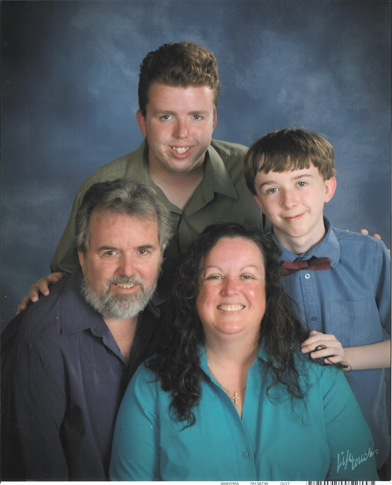 Me with my wonderful husband and boys