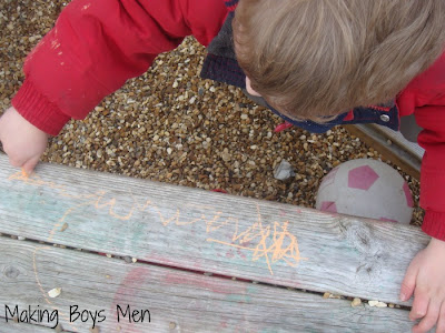 outdoor chalk activities