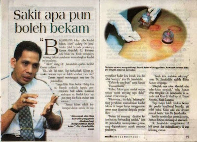 Bekam, Jeli, Kelantan, Redza Zakaria, 9W2RSG