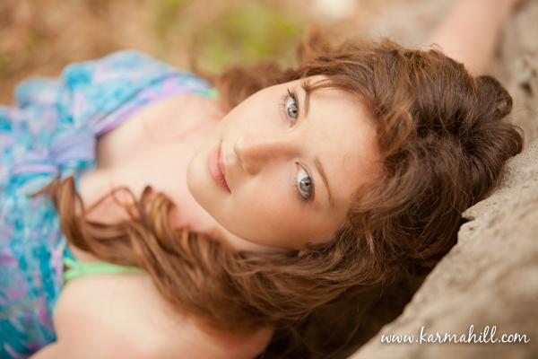 Maui senior portraits by Maui photographer Karma Hill