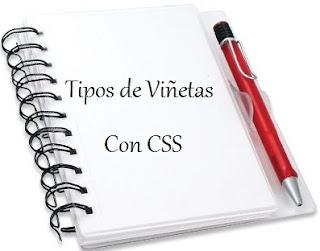 Tipos de Viñetas Con CSS