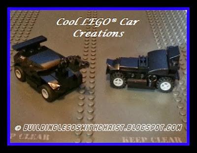 LEGO, LEGO Creations, Cool Creations, LEGO Car