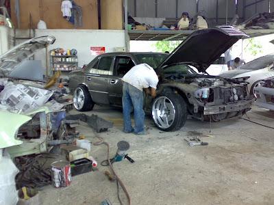 mercedes w124 body kit