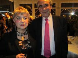 *Morgane BRAVO & Pr Bernard DEBRE Ancien Ministre, Député de Paris, 16ème Arrondissement (Nord)