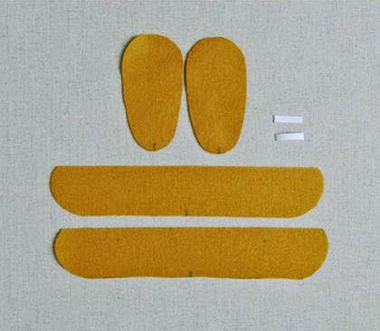 Пошива тапочек своими руками 5