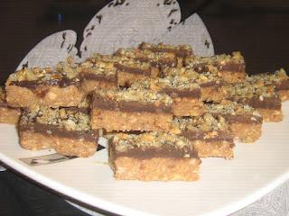 Peanut Cube Cake