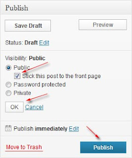 sticky post wordpress