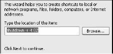 Membuat Shortcut