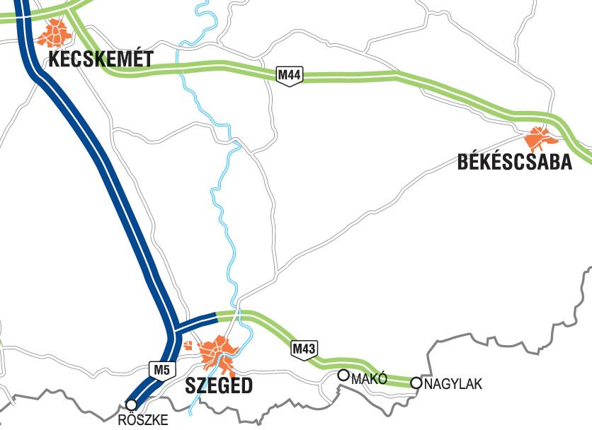 Desde Hungría: Finalizada la M-43, primera autopista que une Hungría ...