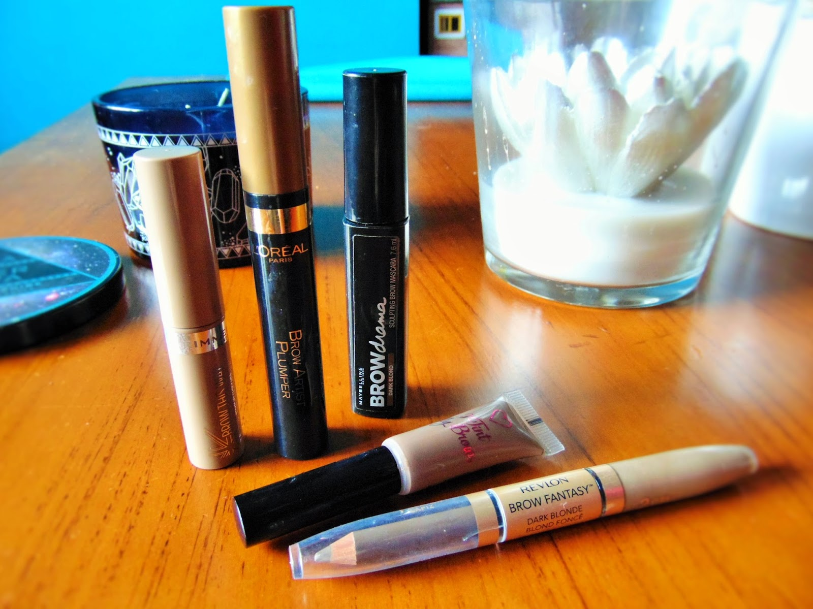 tinted brow gels high street revlon i heart make up rimmel loreal maybelline
