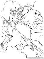 Mewarnai Gambar Barbie And The Magical Pegasus