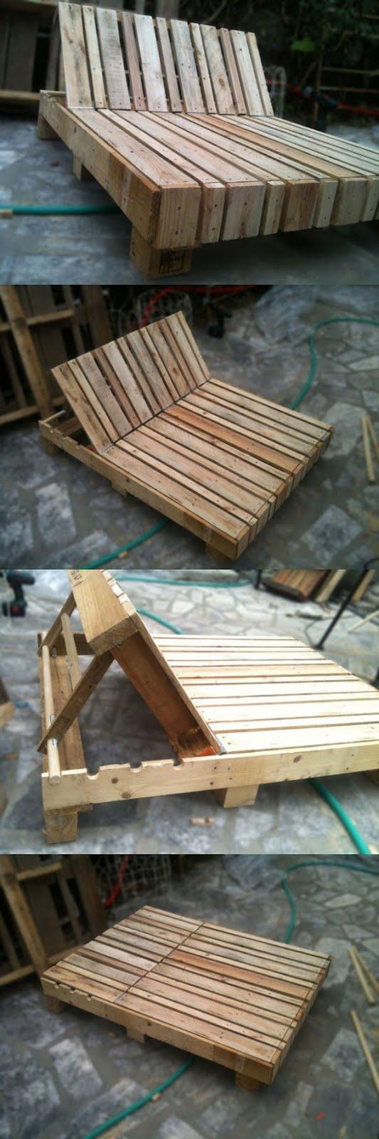 Reaproveitamento de madeira pallet